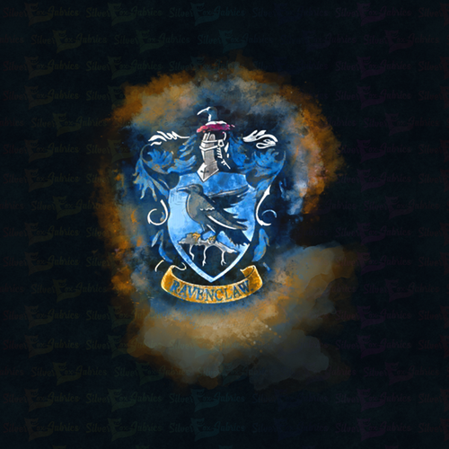Ravenclaw Kids Medium/Small Panel - Silver Fox Fabrics