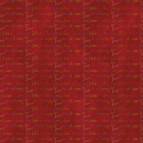 Red Coordinate - Silver Fox Fabrics