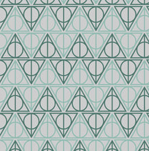 Load image into Gallery viewer, Slytherin Hallows - Silver Fox Fabrics