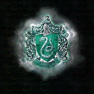 Slytherin Kids Medium/Small Panel - Silver Fox Fabrics