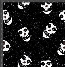 Load image into Gallery viewer, White Skull - Silver Fox Fabrics