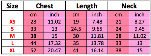 yellow dog harness dress sizing