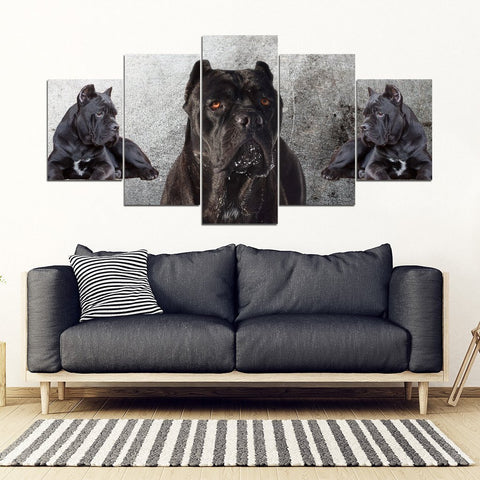 Cane Corso Print- Piece Framed Canvas- Free Shipping-Paww-Printz-Merchandise