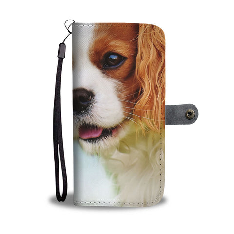 Cavalier King Charles Spaniel Print Wallet Case-Free Shipping-CA State