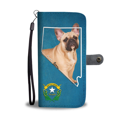 Amazing French Bulldog Print Wallet Case-Free Shipping-NV State
