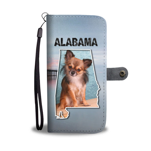 Chihuahua Print Wallet Case-Free Shipping-AL State