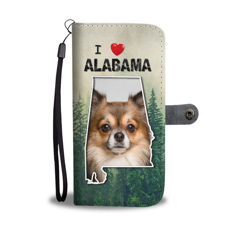 Lovely Chihuahua Print Wallet Case-Free Shipping-AL State