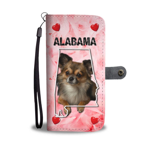 Cute Chihuahua Print Wallet Case-Free Shipping-AL State