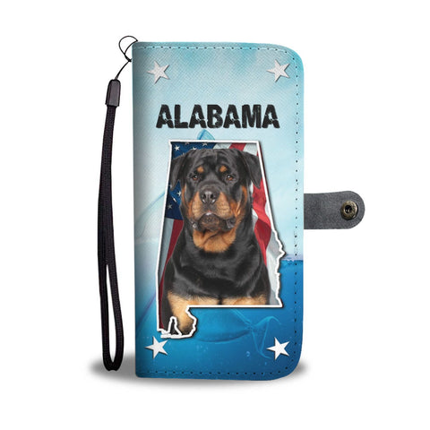 Rottweiler Dog Print Wallet Case-Free Shipping-AL States