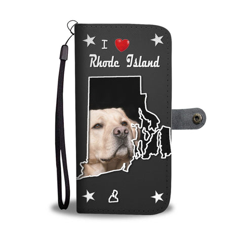 Labrador Retriever Print Wallet Case-Free Shipping-RI State