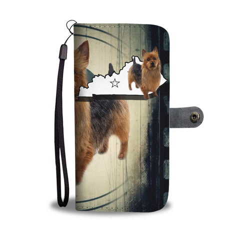 Australian Terrier Print Wallet Case-Free Shipping-KY State