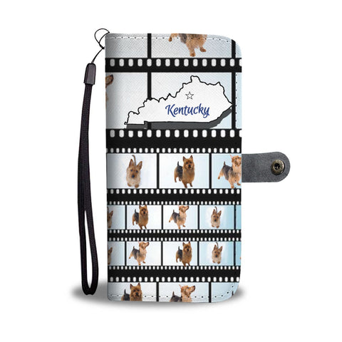 Amazing Australian Terrier Print Wallet Case-Free Shipping-KY State