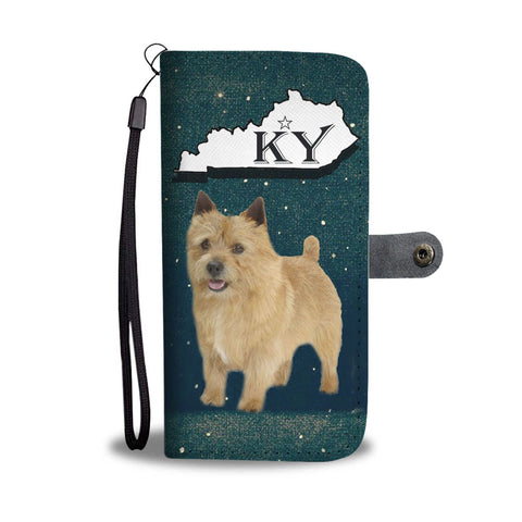 Norwich Terrier Print Wallet Case-Free Shipping-KY State