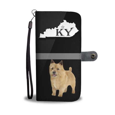 Cute Norwich Terrier Print Wallet Case-Free Shipping-KY State