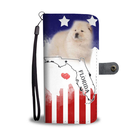 Chow Chow Dog Print Wallet Case-Free Shipping-FL State