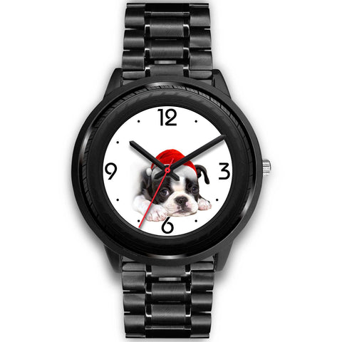 Boston Terrier Christmas Special Wrist Watch-Free Shipping