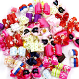 Mixed colors Mega Bundle Dog Bows (50pcs)
