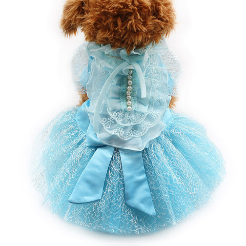 Blue / XS Blue Lady of Elegance Dog Dress