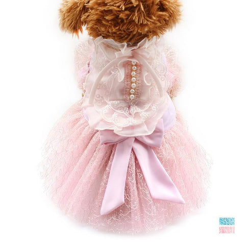 Pink / XS Pink Lady of Elegance Dog Dress