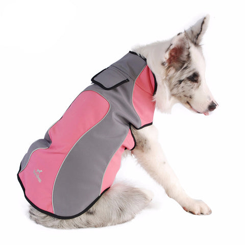 Pink / S Premium Waterproof Dog Coat