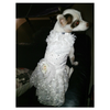 Sequinned White Wedding Dress