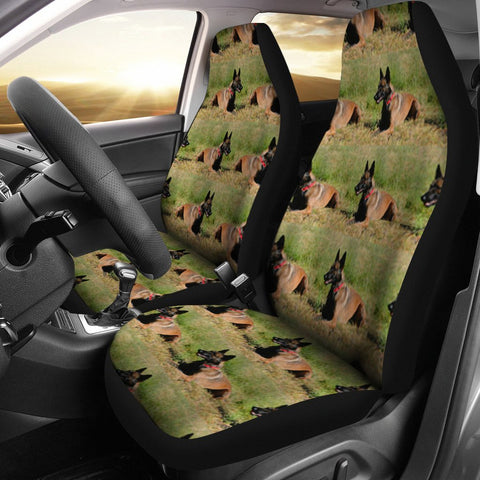 Belgian malinois Dog Patterns Print Car Seat Covers-Free Shipping