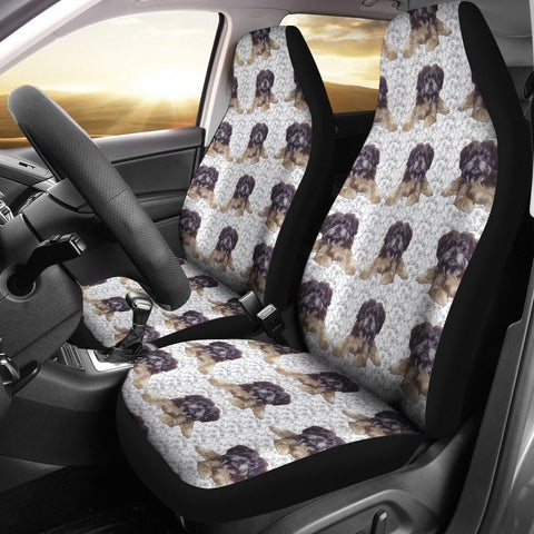 Affenpinscher Dog Patterns Print Car Seat Covers-Free Shipping
