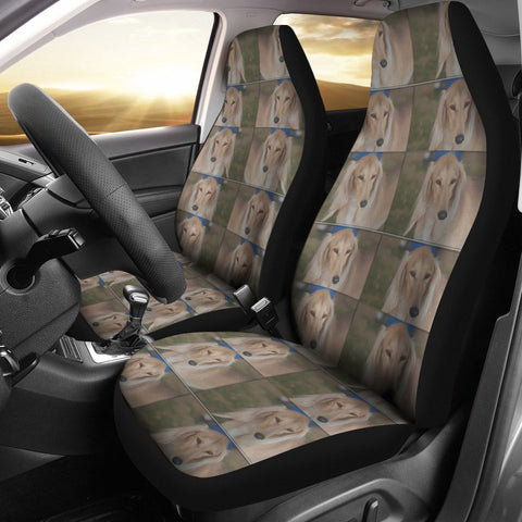Saluki Dog Patterns Print Car Seat Covers-Free Shipping