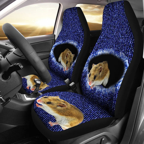 Chinese Hamster Print Car Seat Covers- Free Shipping