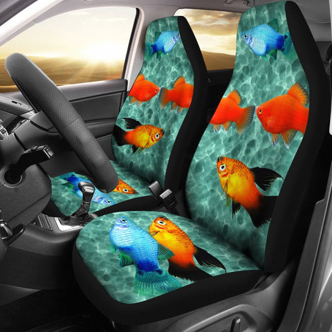 Platy Fish Print Car Seat Covers- Free Shipping
