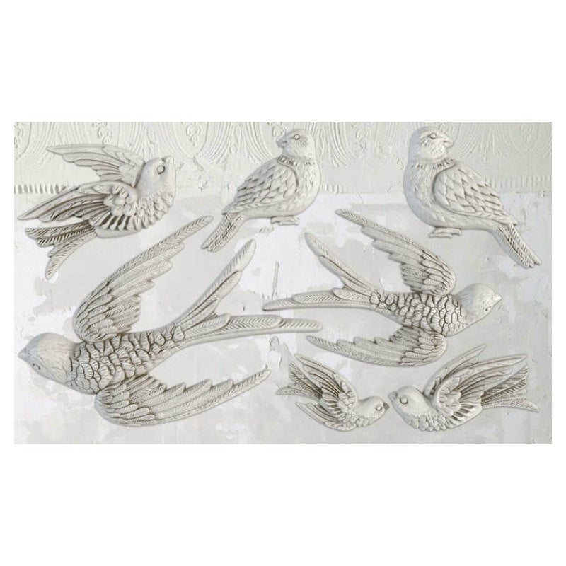 'Bird Song'' Scroll IOD Mould 6