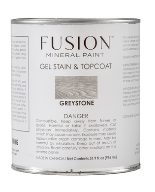Fusion Gel Stain & Top Coat Greystone
