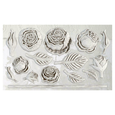 'Heirloom Roses' IOD Decor Mould (6″X10″)