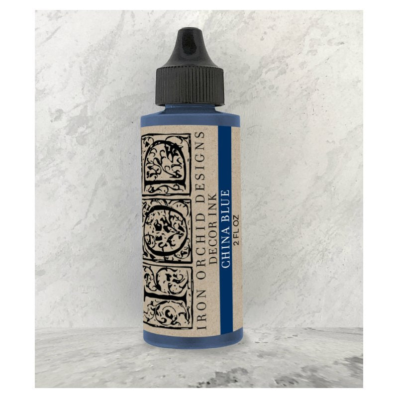 IOD Decor Ink - China Blue (2oz)