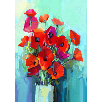 Poppies Decoupage Papers