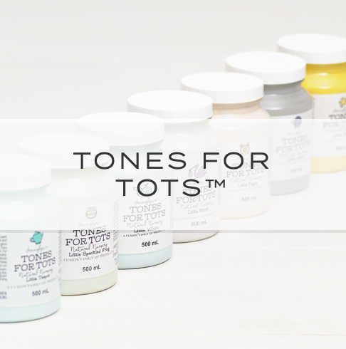 Fusion Mineral Paint - Tones for Tots Collection