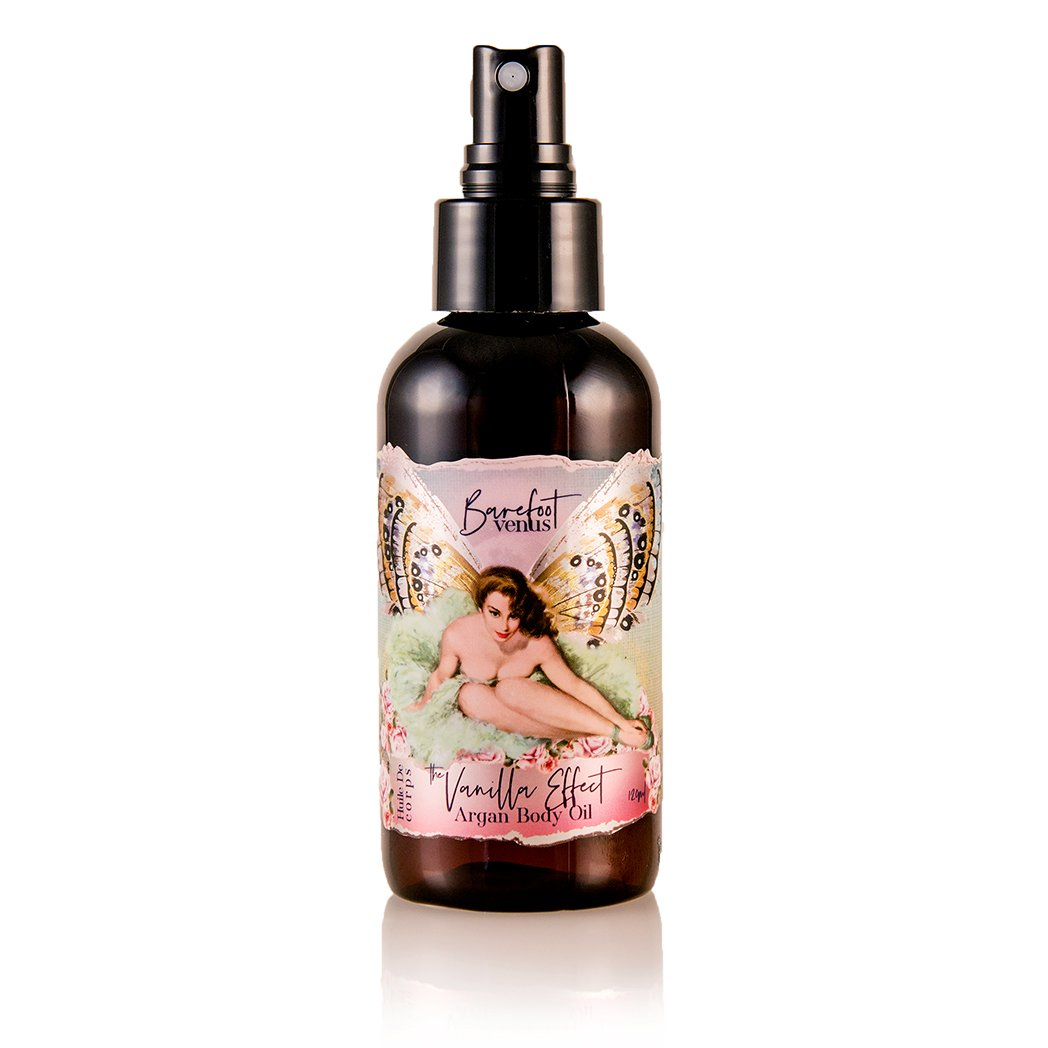 Barefoot Venus - The Vanilla Effect~Argan Body Oil