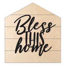 Bless this Home Pallet Sign DIY Kit