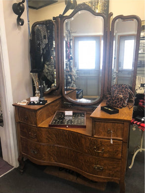 Serpentine Dressing Table