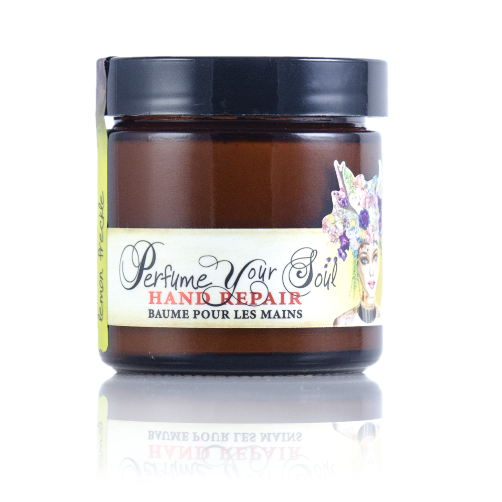 Barefoot Venus- Lemon Freckle Shea & Mango Butter Hand Repair