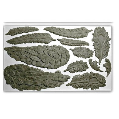 Wings & Feathers IOD Decor Mould (6