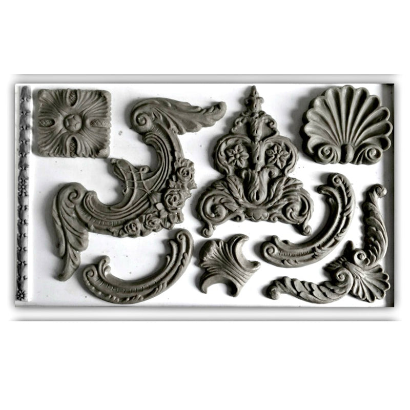 'Classic Elements' IOD Decor Mould (6