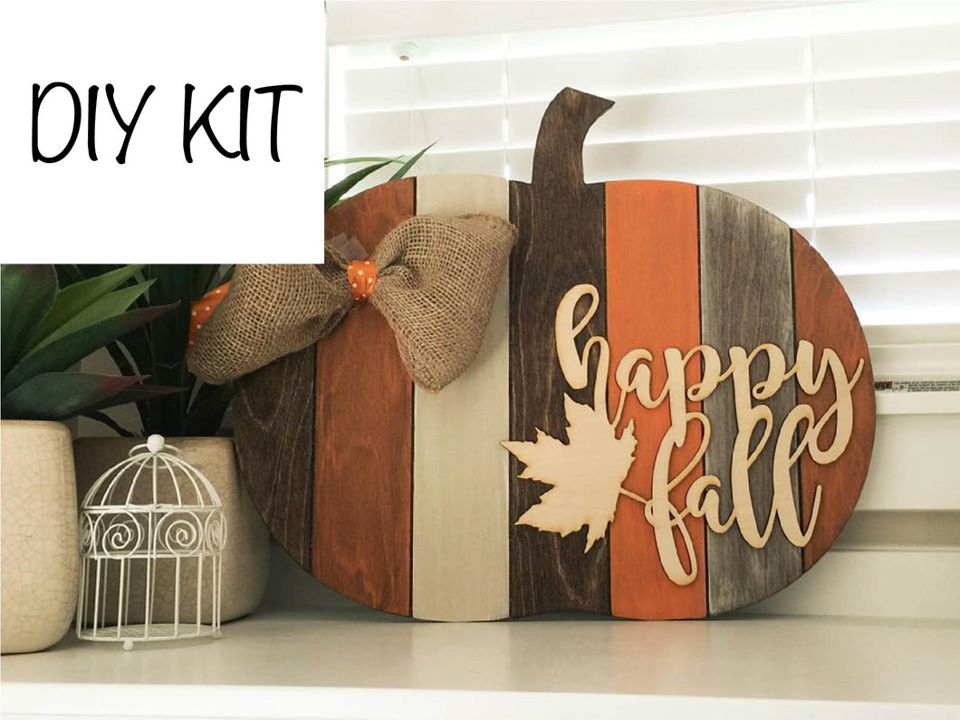 Pumpkin DIY Kit