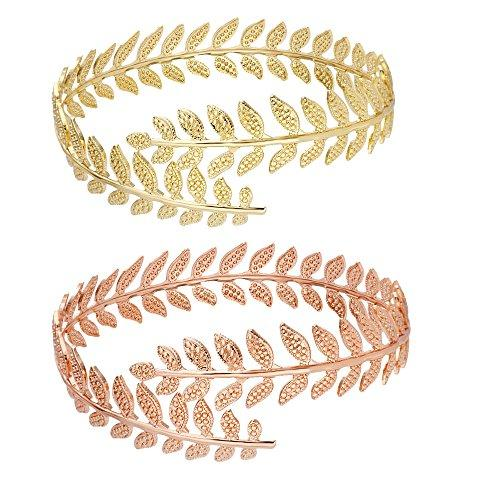 Grace Leaf Arm Cuff/Bracelet
