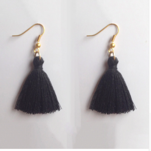 Drop Top Earrings - SemiPolished