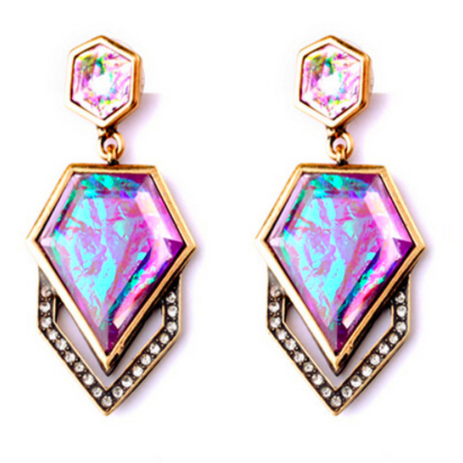 Queen of Everything Earrings - SemiPolished