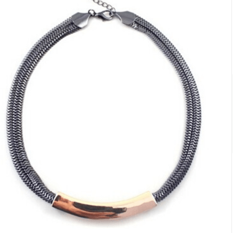Perfect Pair Necklace - SemiPolished