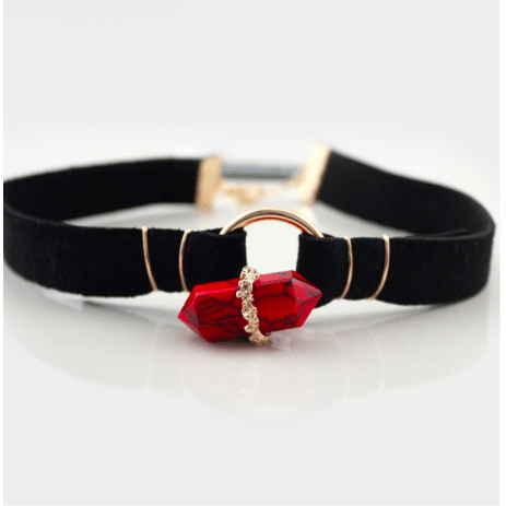 The Neverland Choker - Red - Necklaces