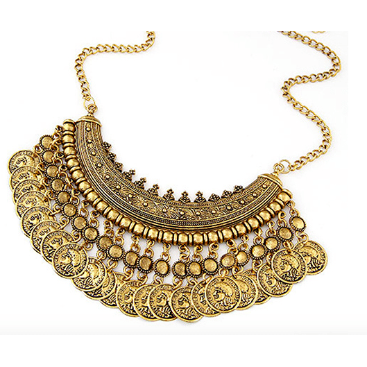 Too Haute Necklace - Gold - Necklaces