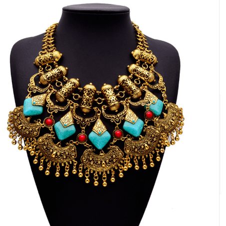 Queen Of Them All Necklace - Gold - Necklaces
